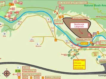 Resort Map,