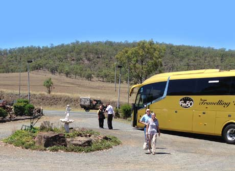 coach bus tour groups day trips